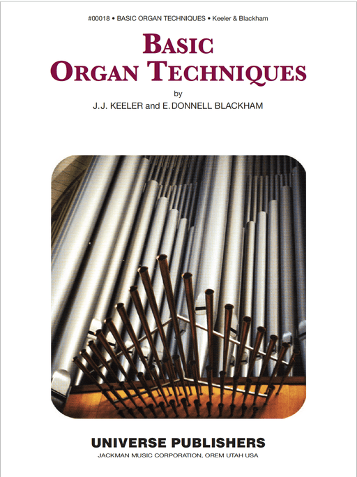 Basic Organ Techniques - Organ Method Book | Sheet Music | Jackman Music