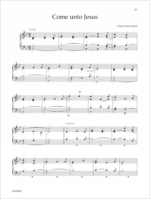 The Temple Organist | Sheet Music | Jackman Music