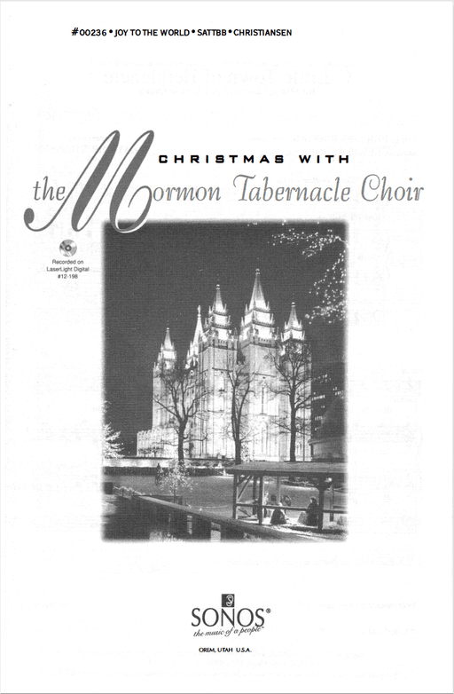 Joy to the World - SATTBB - Christiansen | Sheet Music | Jackman Music