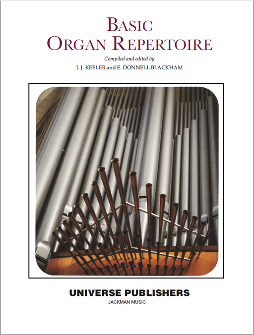 Basic Organ Repertoire | Sheet Music | Jackman Music