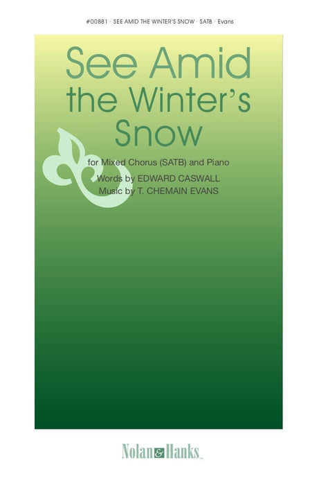 See Amid the Winter's Snow - SATB - Evans | Sheet Music | Jackman Music