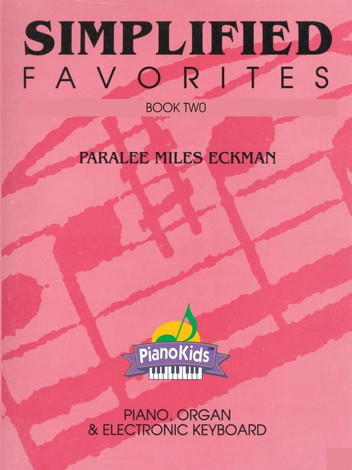 Simplified Favorites - Book Two (Digital Download) | Sheet Music | Jackman Music