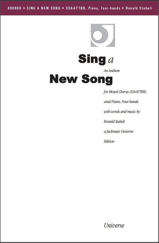 Sing a New Song - SSAATTBB