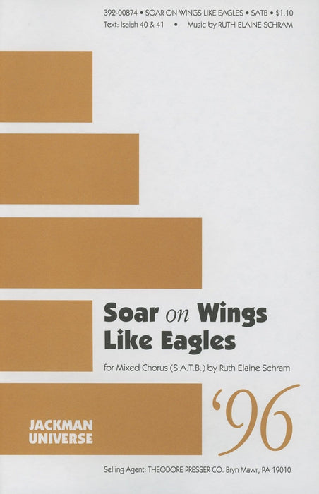 Soar on Wings Like Eagles - SATB