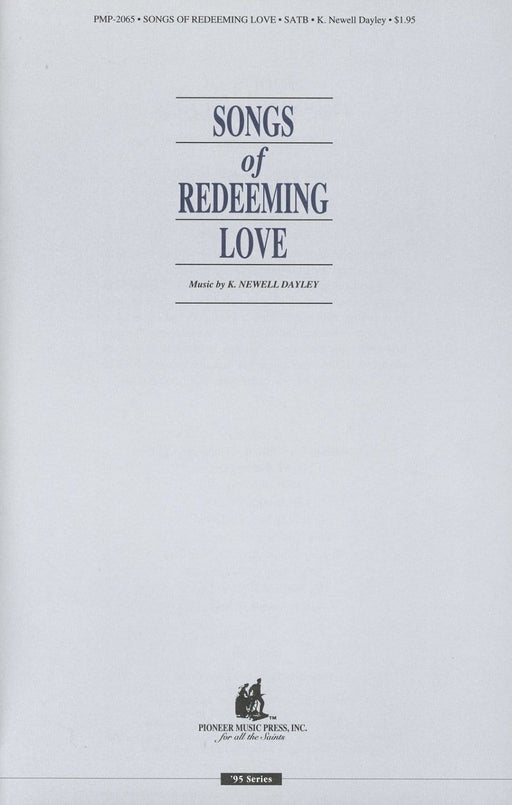 Songs of Redeeming Love - SATB | Sheet Music | Jackman Music
