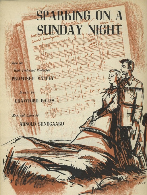 Sparking on a Sunday Night - Vocal Solo | Sheet Music | Jackman Music