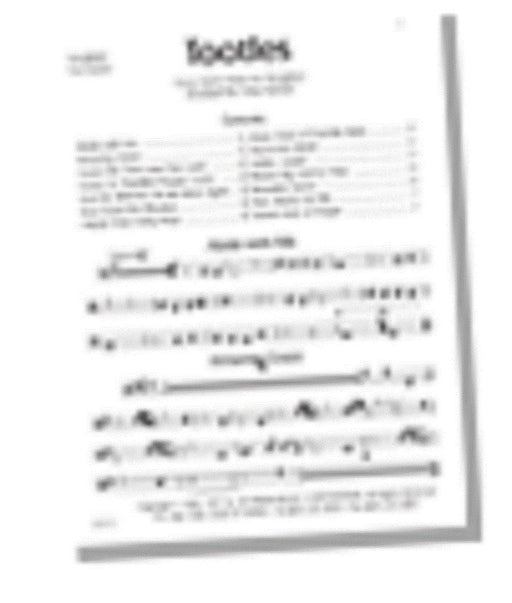 TOOTLES - Part Booklet (Digital Download) | Sheet Music | Jackman Music