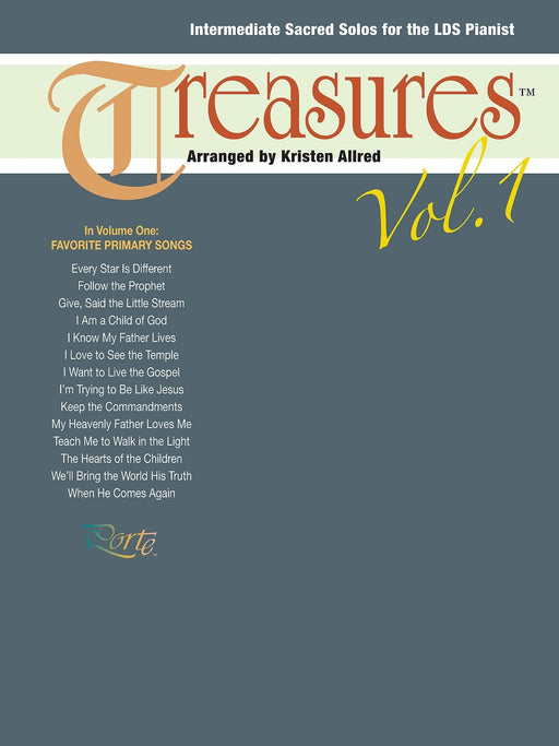 Treasures, Vol. 1 - Piano | Sheet Music | Jackman Music