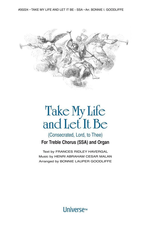 Take My Life and Let it Be - SSA | Sheet Music | Jackman Music