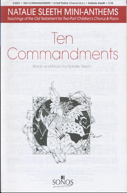 Ten Commandments - SA | Sheet Music | Jackman Music