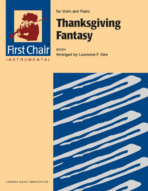 Thanksgiving Fantasy - Violin Solo | Sheet Music | Jackman Music