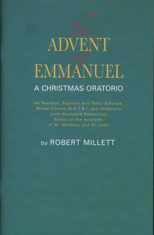 The Advent of Emmanuel - Oratorio | Sheet Music | Jackman Music