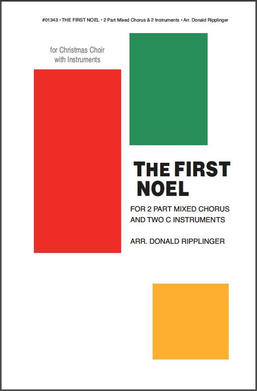 The First Noel - Two-part - Ripplinger