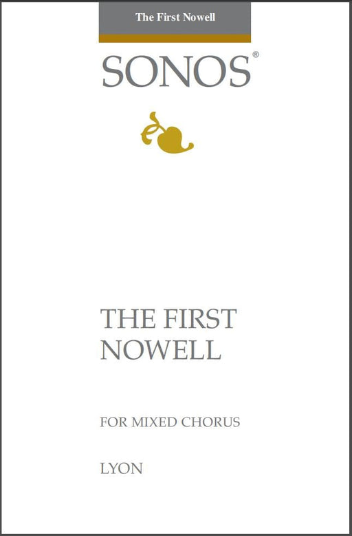 The First Nowell - SATB w/ congregation - Lyon | Sheet Music | Jackman Music