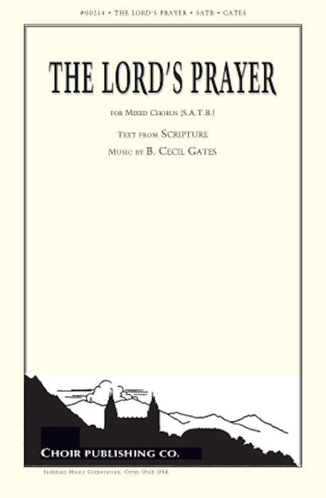 The Lord's Prayer - SATB - Gates | Sheet Music | Jackman Music