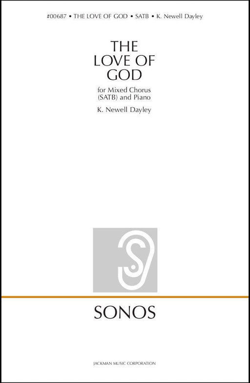 The Love of God - SATB and Congregation - Dayley
