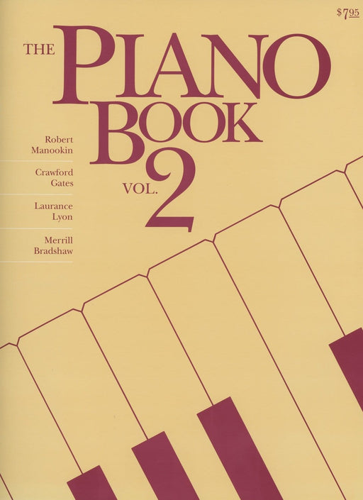 The Piano Book - Vol 2 | Sheet Music | Jackman Music