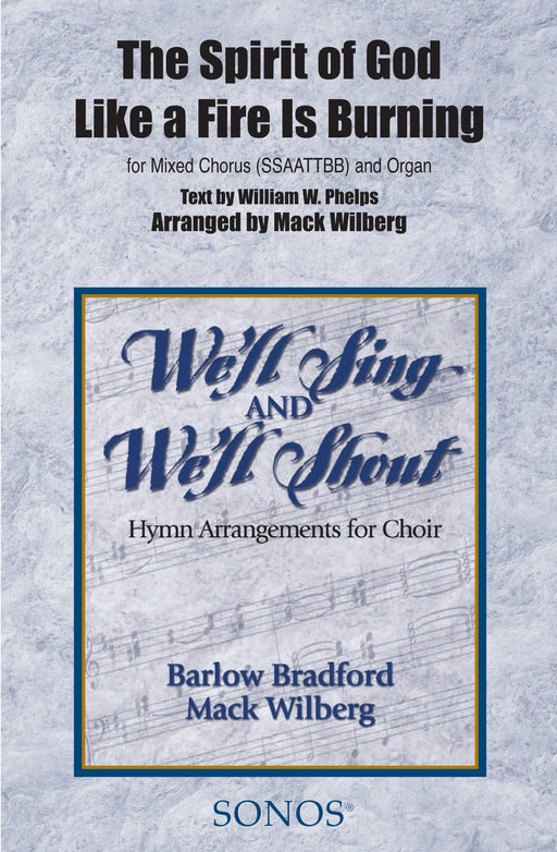 The Spirit of God Like a Fire is Burning - SSAATTBB - Wilberg | Sheet Music | Jackman Music