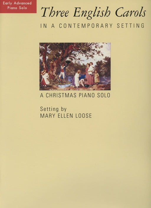 Three English Carols in a Contemporary Setting - Piano Solo