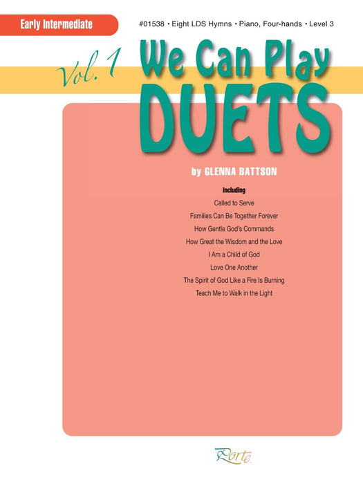 We Can Play Duets Vol. 1 - Piano, four-hands