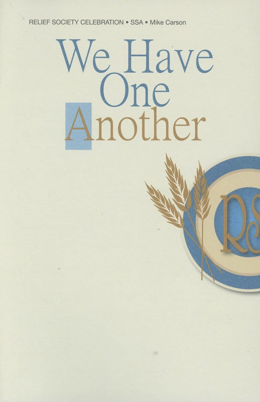 We Have One Another - SSA
