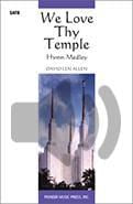We Love Thy Temple - SATB - full audio accompaniment | Sheet Music | Jackman Music
