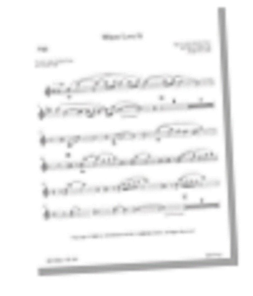 Where Love Is - Flute Part | Sheet Music | Jackman Music
