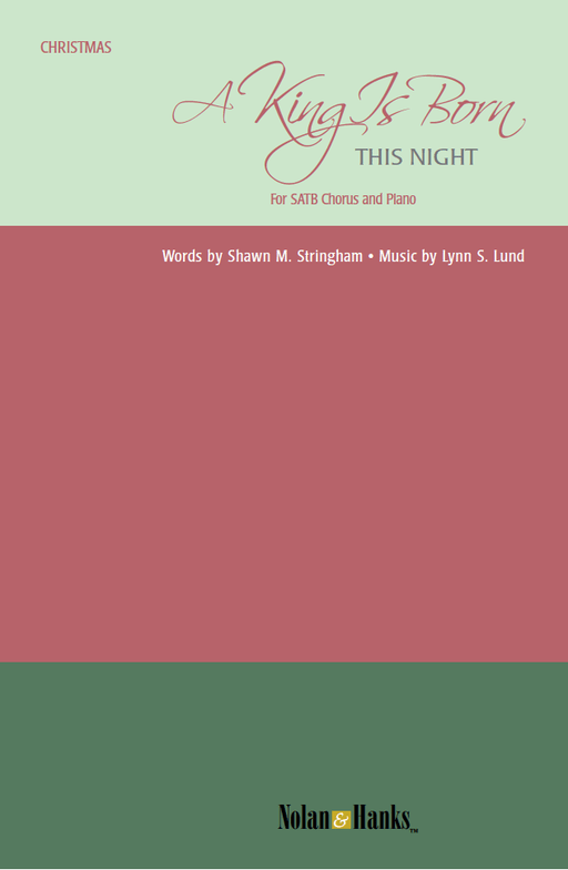 A King Is Born This Night - SATB