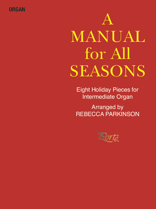 A Manual for All Seasons - Organ (Digital Download) | Sheet Music | Jackman Music