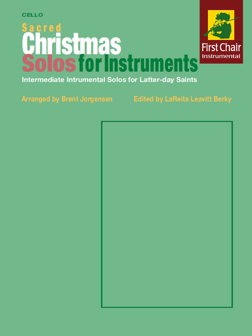 Sacred Christmas Solos for Instruments - Cello | Sheet Music | Jackman Music