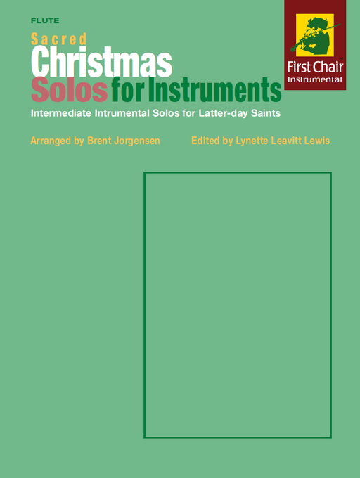 Sacred Christmas Solos for Instruments - Flute