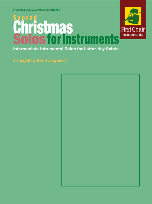 Sacred Christmas Solos for Instruments - Piano Accompaniment