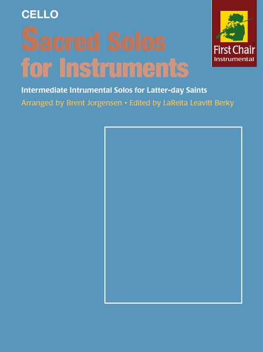 Sacred Solos for Instruments - Cello | Sheet Music | Jackman Music