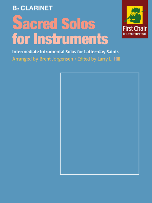Sacred Solos for Instruments - Clarinet