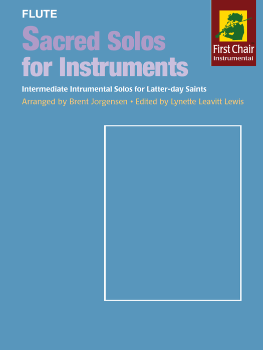 Sacred Solos for Instruments - Flute
