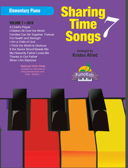 Sharing Time Songs Vol. 7 (2018) - Elementary Piano | Sheet Music | Jackman Music