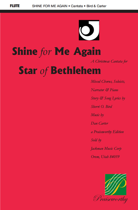 Shine for Me Again, Star of Bethlehem - Flute Part | Sheet Music | Jackman Music