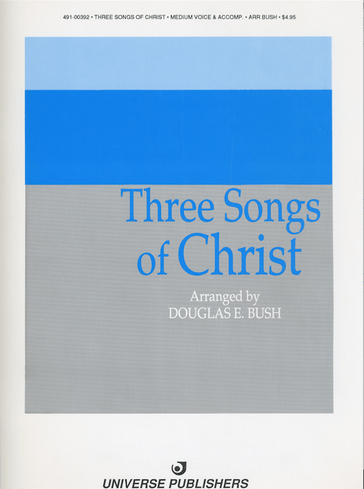 Three Songs of Christ - Vocal Solos | Sheet Music | Jackman Music