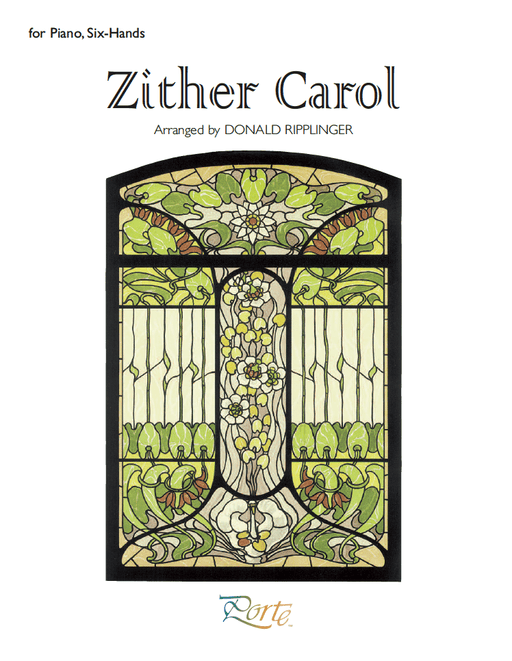 Zither Carol - Piano Six Hands (Digital Download)