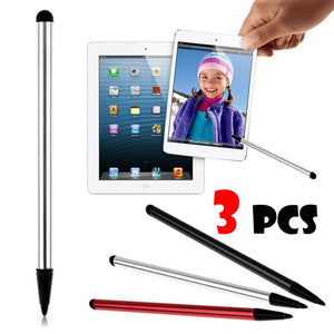3PC  Universal Touch Screen Pen Stylus For iPhone ,iPad, Samsung Tablet