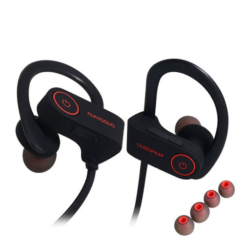 Bluetooth Waterproof Sports Wireless  Earphones With Mic
