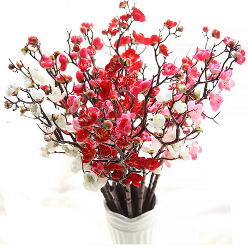 Artificial  Plum Blossom Tree Decor