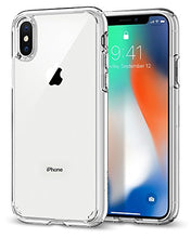 Ultra Hybrid iPhone X Case with Air Cushion Technology and Clear Hybrid Drop Protection