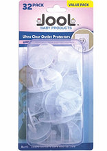 Outlet Plug Covers (32 Pack) Clear Child Proof Caps