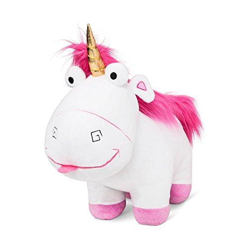 Universal Despicable Me Fluffy Unicorn Cuddle Pillow