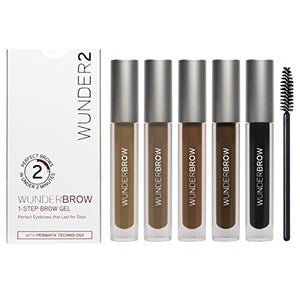 WUNDERBROW Long Lasting Eyebrow Gel for Waterproof Eyebrow Makeup