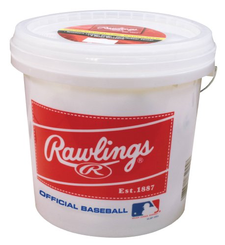 Rawlings Official League Recreational Bucket: 24ct