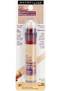 Maybelline Makeup Instant Age Rewind Concealer Dark Circle Eraser  Light Shade, 0.2 fl oz