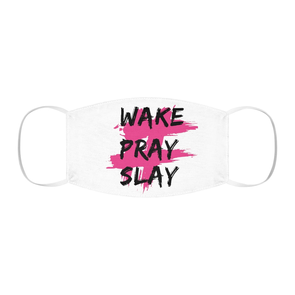 Wake Pray Slay Face Mask