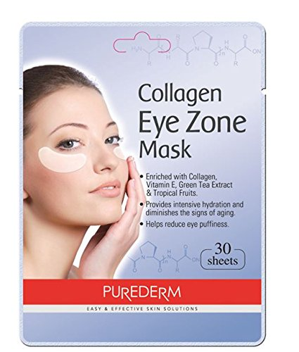 Deluxe Collagen Eye Mask Pads - 2 Pack Of 30 Sheets